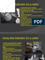 Using Dial Indicator on a Lathe