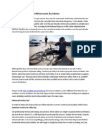Safety Tips to Prevent Motorcycle Accidents