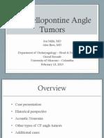 CP Angle Tumors