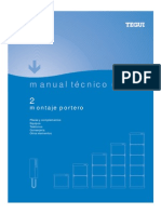Manual Tecnico Portero Montaje Tegui