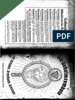 Ein buch von Gessmann digitalisiert  - Die Geheimsymbole
