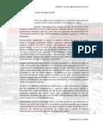 Manifiesto y Comunicado de la Concentración ante la Embajada de Arabia Saudí en Madrid (24-9-2015)