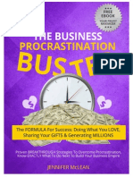 The Business Procrastination Buster