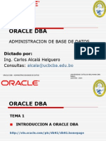 Introduccion Oracle DBA Juniors