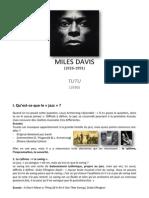 course on Miles Davis