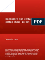 Bookstore and Restaurant-coffee Shop Project