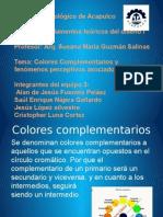 Colores Complementarios y Fenomenos Perceptivos Asociados Al Color