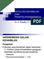 Patologi Kehamilan Dan Penatalaksanaannya