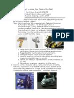 Report Seminar Non Destructive Test