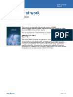 Electricity at Work - Safe Working Practices HSG85