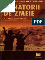 Khaled Hosseini Vanatorii de Zmeie