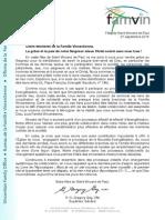 [FRA] Supérieur général de la Famille Vincentienne - SVP fête 2015