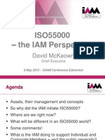 Keynote ISO 55000 the IAM Perspective