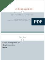 Gene Shawcroft Asset Management Implementation