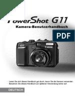 CannonG11 Manual