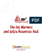 ESL in China Fat Warmers Pack
