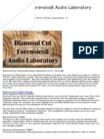 Diamond Cut Forensics8 Audio Laboratory 8.10