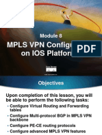 Module 8 - MPLS VPN Configuration on IOS Platforms.ppt