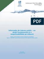 Studiu Informatia de Interes Public Octombrie 2009