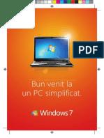 Manual de Utilizare Windows 7