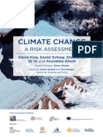 Climate Change a Risk Assessment
