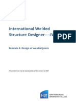 IWSD Module 4 -Design of Welded Joints