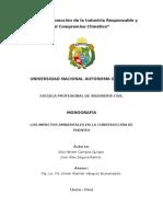 Monografía Impactos Ambientales Puentes
