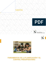 Sesion 01 - Fundamentos de La Planificacion y Control Presupuestario