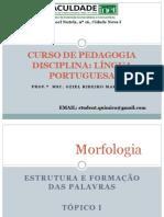 Aula de Lingua Portuguesa_Marinho