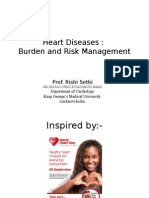 Presentation of Prof Rishi Sethi of KGMU on World Heart Day Webinar 2015