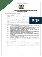 Biometric Registration Of Civil Servants
