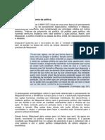 Maquiavel e a Autonomia Da Política