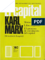 Karl Marx, El Capital. Tomo II. El Proceso de Circulación Del Capital. Vol. 4