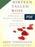 The Thirteen Petalled Rose - Adin Steinsaltz