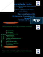 Desevolvimento urbano e crescimento economicovolvimento Urbano e Crescimento Economico