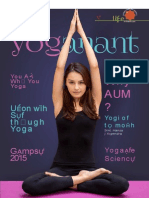 Yoga Anant - MONTHLY NEWS LETTER OF UJJAIN YOG LIFE SOCIETY