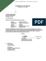 OFAC Unblocking License