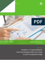 Analytics Capital Markets Tcs