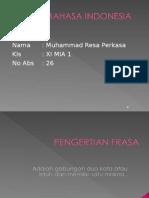 Jenis Jenis Frasa Dlm Bhs Indonesia Sma
