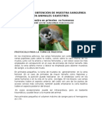 Tecnicas de Obtencion en Animales Silvestres