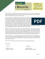 HS Friday Bulletin 03.12.10