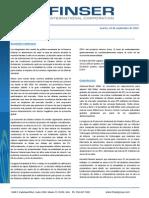 Reporte Semanal (21 de Septiembre 2015)