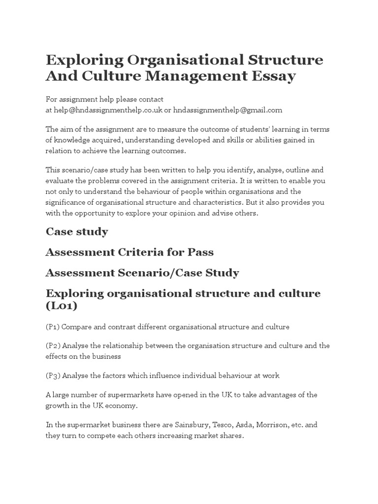 concept of management and organization