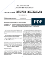 Reglamento de Las Pensiones Parlamentarias