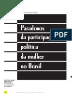 Os Paradoxos da Participação política da mulher no Brasil - CÉLI REGINA JARDIM PINTO