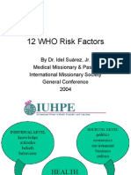 WHO risk factors.ppt