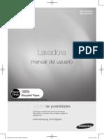 Manual Lavadora Wd116uhsa-03223e-03 Es Ax-120