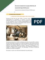 Características de La Revolución Industrial de Los Siglos XVIII