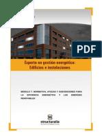 Módulo 7 Normativa, Ayudas y Subvenciones Para La Eficiencia Energética y Las Energías Renovables