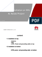 Standard Installation on RRU_XL Axiata Project v 1 3